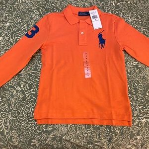 ✨Brand new🌟Polo Ralph Lauren long sleeve polo